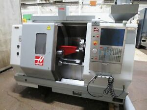 2009 Haas Sl 20t Cnc Turning Center Lathe W Epson 6 axis Material Handling Robot