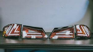 05 13 Lexus Is240 Is300 Is350 Led Acrylic Tail Lights Xe20 Gse20