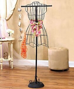 Wire Dress Form Vintage Seller Clothing Display Seamstress Alteration Tool Alter