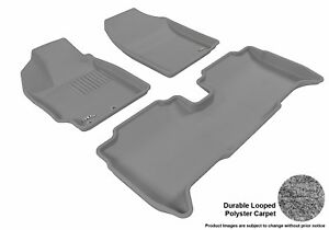 Fits 2013 2014 Scion Xd Row 1 2 Classic Carpet Gray Customize Floor Mat