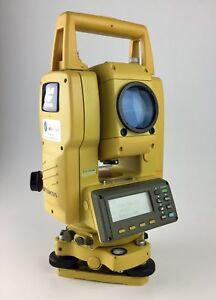 Topcon Gts 235w 5 Total Station W Bluetooth We Export