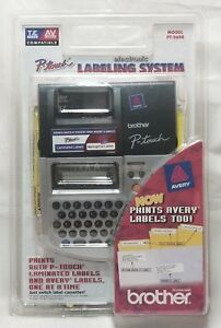 New 02 Brother Pt 2600 Electronic Labeling System Prints P touch