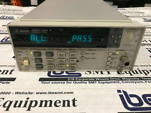 Agilent 53181a Frequency Counter 225 Mhz With Warranty Guaranteed Good