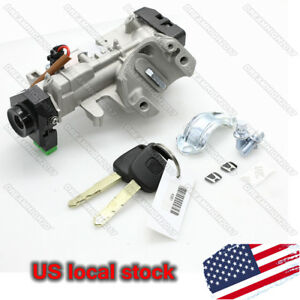 Ignition New Switch Cylinder Lock Auto Trans For Honda Accord 03 05
