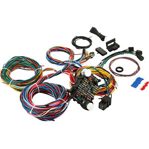 Universal X Long Wires 21 Circuit Wiring Harness Fit Chevy Mopar Ford Hotrods