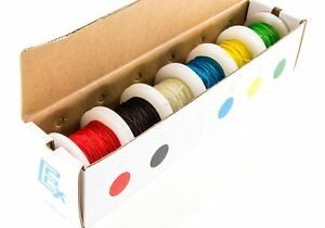 30 Gauge Wire Wrap Kit Solid Kynar Insulated 100ft Spools