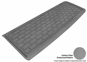 Fits 2009 2015 Honda Pilot Cargo Liner Carbon Pattern Gray Customize Floor Mat
