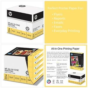 Hp Paper All In One Printing Paper Poly Wrap 22lb 8 5 X 11 Letter 96 Brigh