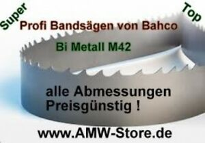 5 Set Bandsaw Blade Bi Metal M42 1 1 16in 144 3 32in Extra H260 Bs250