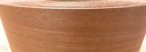 Sapele Ribbon Mahogany Wood Veneer Edgebanding 3 X 120 With Preglued Adhesive