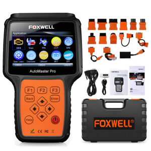 Foxwell Nt644 Full Systems Scanner Abs Srs At Engine Epb Oil Tpms Dpf Injector