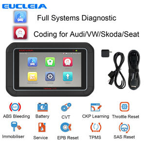 Car Full System Scanner Android Tablet Coding For Vw Abs Sas Tpms Epb Reset Dpf