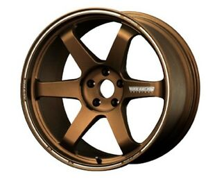 Rays Volk Te37 Ultra Forged Wheels Bronze Rims 8 0j 19 48 For 86 Brz From Japan