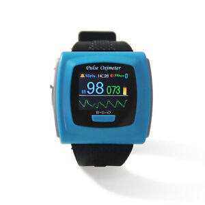 Us Cms50f Wrist Pulse Oximeter 24h Spo2 pr Monitor wearable blood Oxygen Monitor
