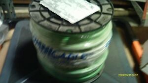 12 Awg Solid Copper 600v Thhn thwn 2 Wire Green 500 Ft Pvc nylon Kris Tech