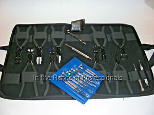 Optical hand Tools 42pc Set Apt 31pc ostkimless 11pc Rimless Adjusting Tool Set