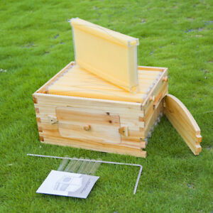 Beekeeping Supplies Auto flow Style Frames With Super Honey Harvest Bee Hive