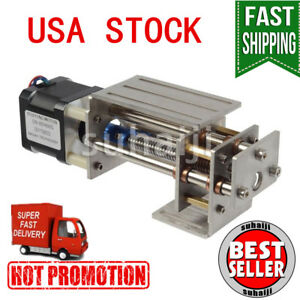 12v Diy Cnc 3 Axis Engraving Machine Z Axis Slide Milling Linear Motion 60mm Usa