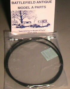 1930 1931 Model A Ford Round Speedometer Cable And Also 1932 1948 Fords