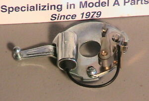 1928 1931 Model A Ford Upper Distributor Plate W Modern Points