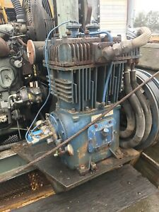 Quincy 390 Reciprocating Air Compressor Used Take Off