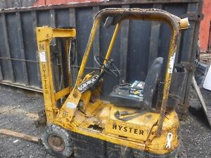 Hyster H25e Three Wheel Tow Motor Forklift Electronic Ignition Monotrol