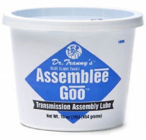 Lubegard Dr Tranny Assemblee Goo Blue Lite Tack Assembly Lube Gel Trans Jel Tac