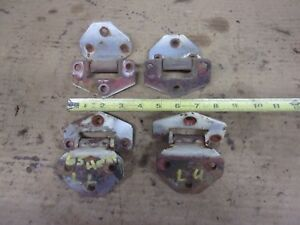 1965 Triumph Herald Door Right Left Door Hinge Upper Lower 1964 1966 1967 1968 Y