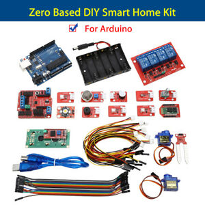 Smart Home System Kit Connector Wire Environment Monitoring For Arduino Platform