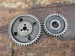 1976 Case David Brown 990 4 Cylinder Diesel Tractor Camshaft Timing Gear B940079