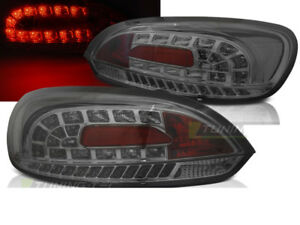 Pair Of Tail Lights For Vw Scirocco 3 Iii 2008 2014 Smoke Led Ca Ldvwi3wd Xino