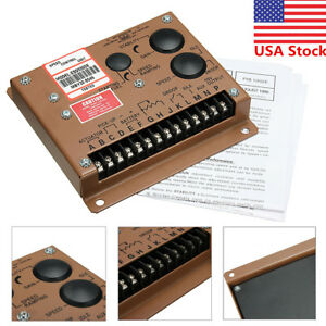 Us Esd5500e Electronic Engine Speed Controller Governor Generator Genset Parts
