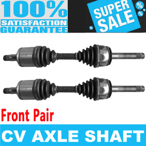 Front 2x Cv Axle Assembly For Toyota Land Cruiser 98 07