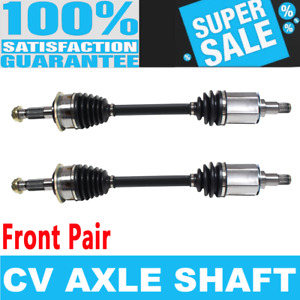 2x Front Cv Axle Drive Shaft For Toyota Sequoia 01 07 Toyota Tundra 00 06 4wd