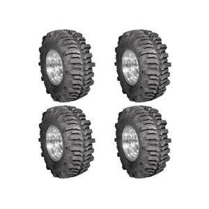 New 4x Super Swampers Lt38 50x11 15 Tsl Bogger r Tires 117q Mud Terrain R R15