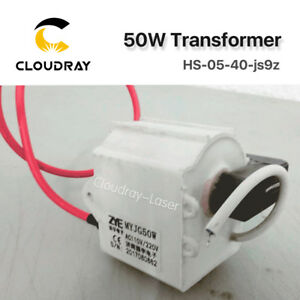 50w High Voltage Flyback Transformer For Co2 Laser Power Supply Psu Myjg 50w
