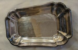 Chadwick International Silver Company 1513 Serving Tray Vintage