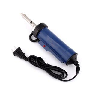 30w 220v 50hz Electric Vacuum Solder Sucker Desoldering Pump Iron Gun Tin Repair