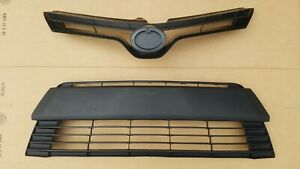 Fits 2014 2016 Toyota Corolla Ce Le Front Bumper Upper Lower Grille 2pc New