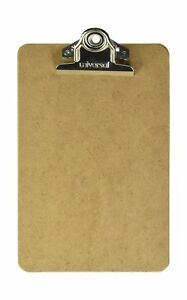 24 Advantage Hard Board Clipboard With High Capacity Clip Memo Size 6 X 9