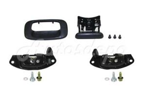 Tailgate Lock Latch Handle Outside Bezel For Silverado Sierra 1999 2006