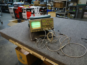 Tektronix 2465a 350mhz 4ch Oscilloscope Opt 22 W 4 Probes Top Storage Bag