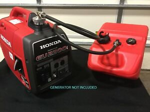 Honda Eu2200i Generator 6 Gal Single Line Extended Run Marine Fuel System new