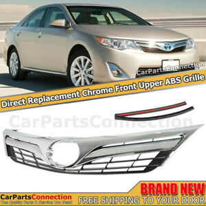 For 2012 2013 2014 Toyota Camry Le xle Model Grille Chrome Direct Replacement
