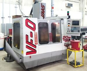 Haas Vf 0 Vertical Cnc Milling Center
