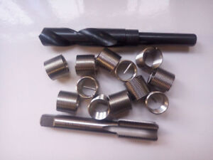 Helicoil Thread Repair M18 X 1 5 Drill And Tap 12 Inserts New Free Shipping