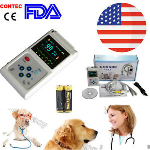 Veterinary Oximeter With Ear Tongue Sensor For Cats Dogs And Other Animals usa