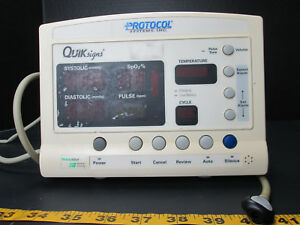 Welch Allyn 52000 Series Protocol Systems Inc Quik Signs Systolic Diastolic T