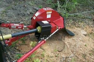 Worksaver Sg 26 3 point Stump Grinder Stump Removal Land Clearing 26 Disc