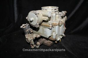 1950 55 Buick Stromberg Aavb 267 Carburetor W Starter Switch Great Core